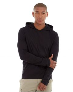Teton Pullover Hoodie-S-Black