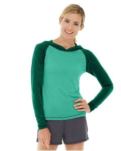 Ariel Roll Sleeve Sweatshirt-L-Green
