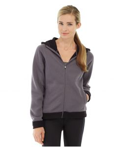 Circe Hooded Ice Fleece-L-Gray